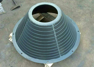 Stainless Steel Centrifugal Sieve Wedge Wire Basket Custom Length / Width / Shaped