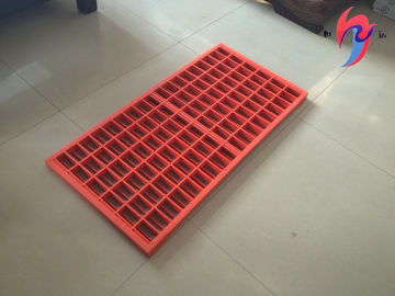 SS304 or 316 Material Shale Shaker Screen Sieving Mesh Composite Frame