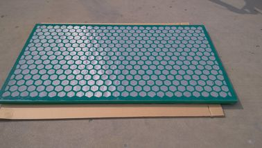 Steel Frame Brandt Shaker Screens For Oilfield & Gas Drilling 1251 X 635 mm