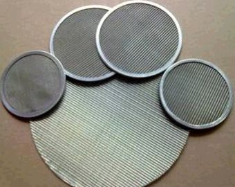 China 316L Stainless Steel Wire Mesh Filter Screen For Food Industry 0.12mm-2.5mm Thick supplier