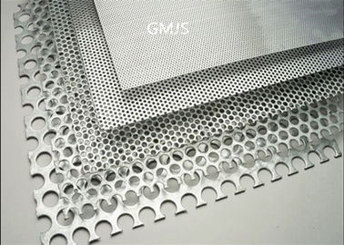 China Stainless Steel Filter Mesh Perforated Metal / Punched Hole Metal Sheet supplier