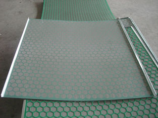 China Hook Strip Flat Mi Swaco Shaker Screens For Oil / Gas Drilling Stainless Steel Material supplier