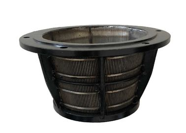 Industrial Centrifuge Wedge Wire Basket High Grade Austenitic Stainless Steel Material