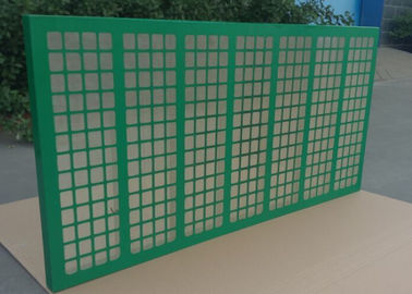 China 20-325 Mesh Steel Frame Brandt Shaker Screens , Solid Control Shaker Screen supplier