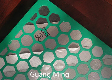 API Size 585*1165mm Mi Swaco Shaker Screens Mine Sieving Mesh For Fine Particles Screening