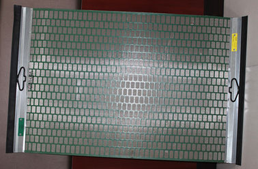 China Oilfield Brandt Hook Strip Flat Shale Shaker Screen Three Layers supplier