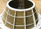 High Strength SS Centrifugal Wedge Wire Basket / Wire Strainer Basket