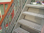Anti - Skidding Decorative Sheet Metal Panels Perforated Metal Stair Treads