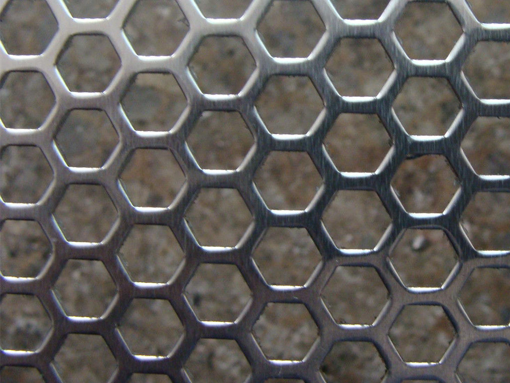 China Factory Supply 316 Stainless Steel Perforated Metal Sheet