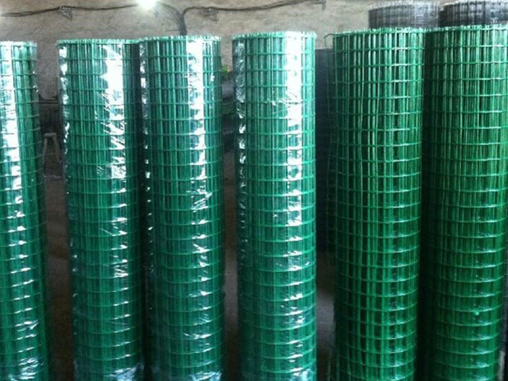 PVC Coated Welded Wire Mesh Panels For Fence 1/2\