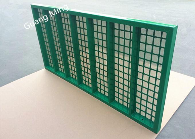 Steel Frame Mongoose Shaker Screens API 20-325 Mesh Count For Mud Filtration