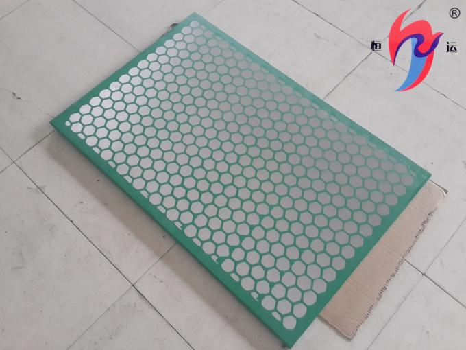 GM Frame Type Shale Shaker Screen Vibrating Sieving Mesh 585×1165mm