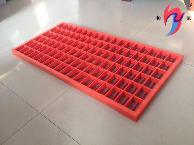 API Approved Oil Drilling Fluid Vibrating Screen With High Strength Composite Frame