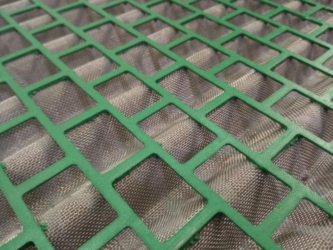 FLC 500 Wave Type Oil Vibrating Sieving Mesh For Shale Shaker API Standard