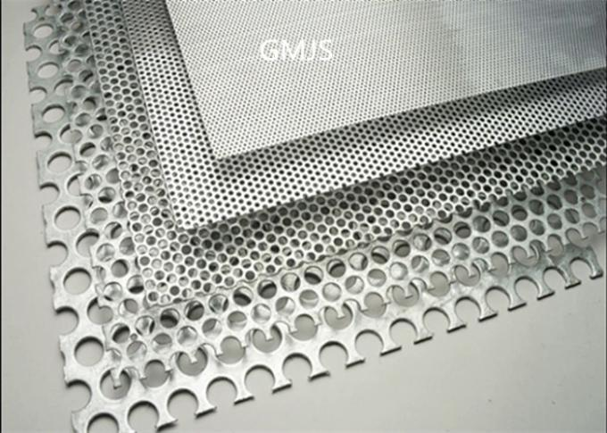 Decorative Perforated Metal Sheet With Four Star Hole