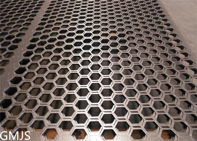 Stainless Steel Filter Mesh Perforated Metal / Punched Hole Metal Sheet